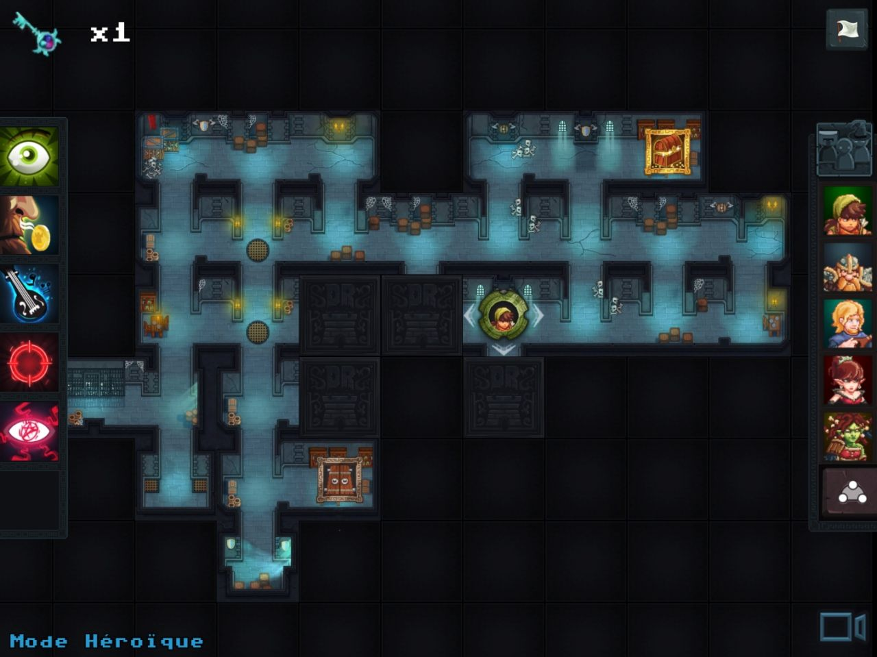 Dungeon Rushers (copie d'écran 11 sur Android)
