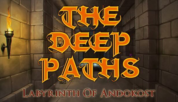 The Deep Paths: Labyrinth Of Andokost de Crescent Moon Games et Steve Jarman