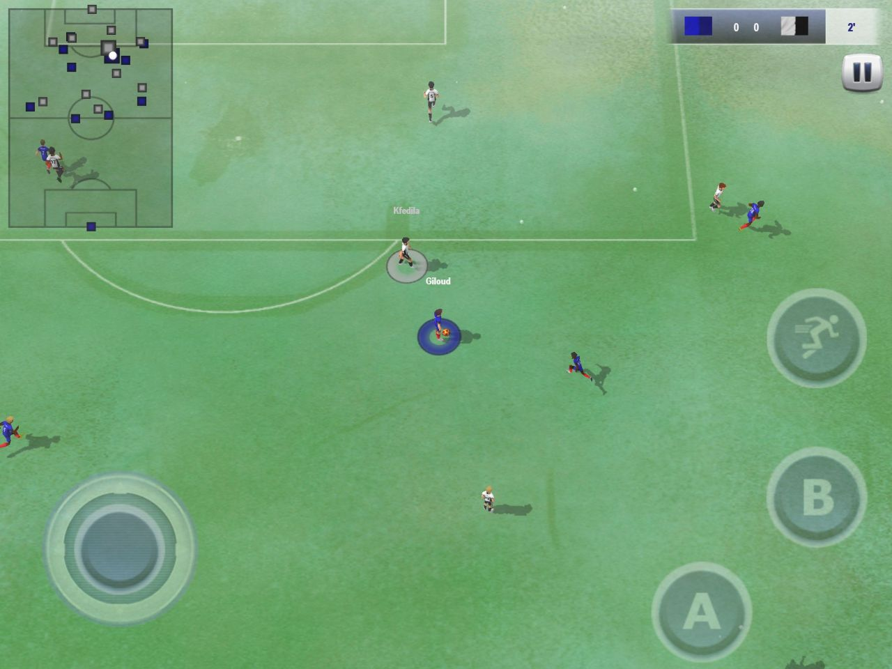 Active Soccer 2 DX (copie d'écran 6 sur iPhone / iPad)