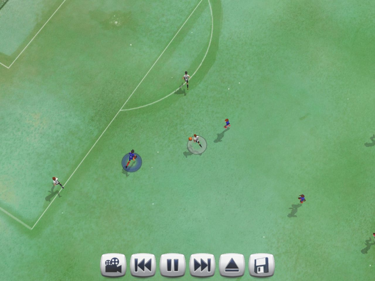 Active Soccer 2 DX (copie d'écran 8 sur iPhone / iPad)