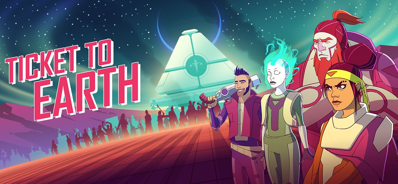 Ticket to Earth de Robot Circus