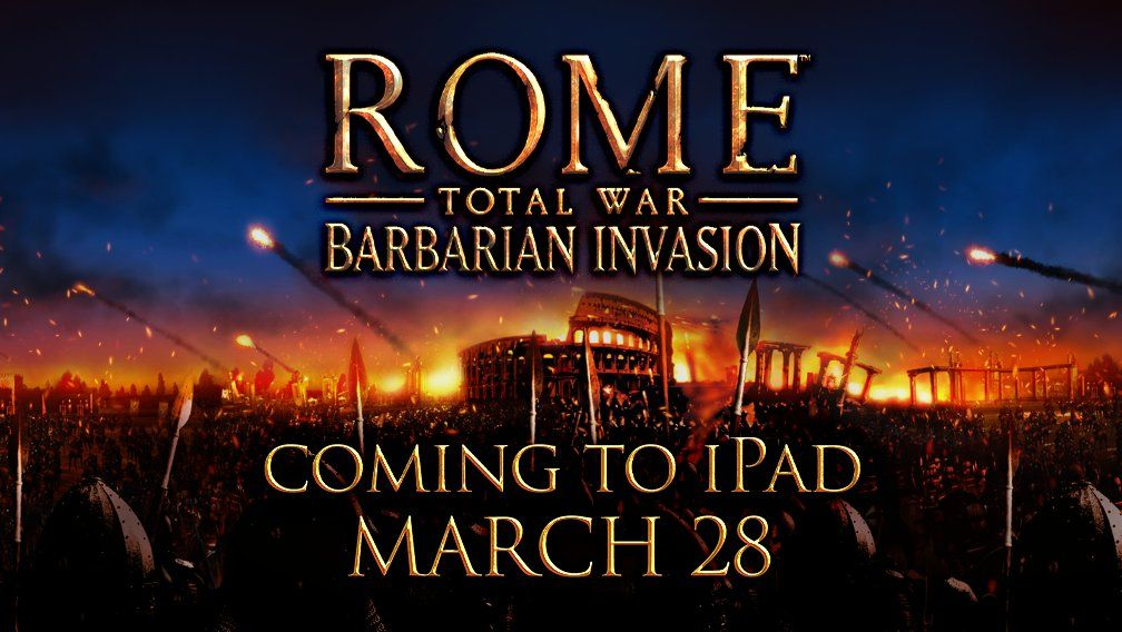 Rome: Total War Barbarian Invasion de Feral Interactive