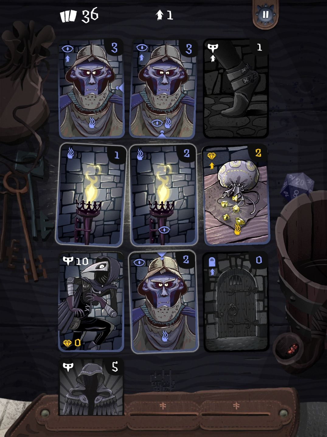 Card Thief (copie d'écran 1 sur iPhone / iPad)