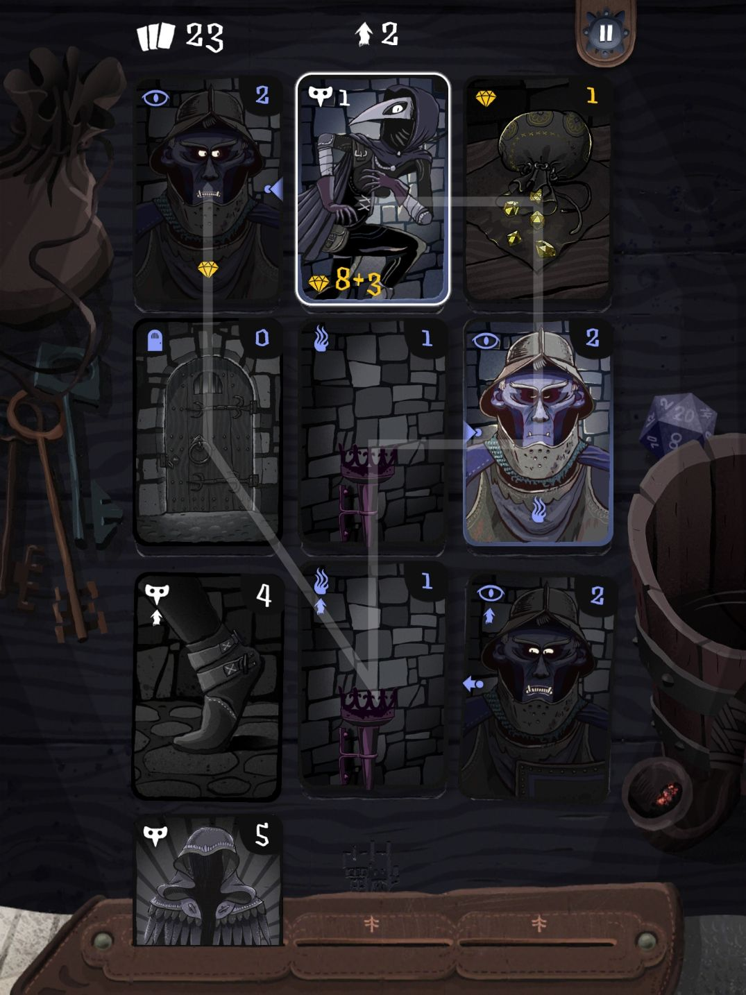 Card Thief (copie d'écran 2 sur iPhone / iPad)