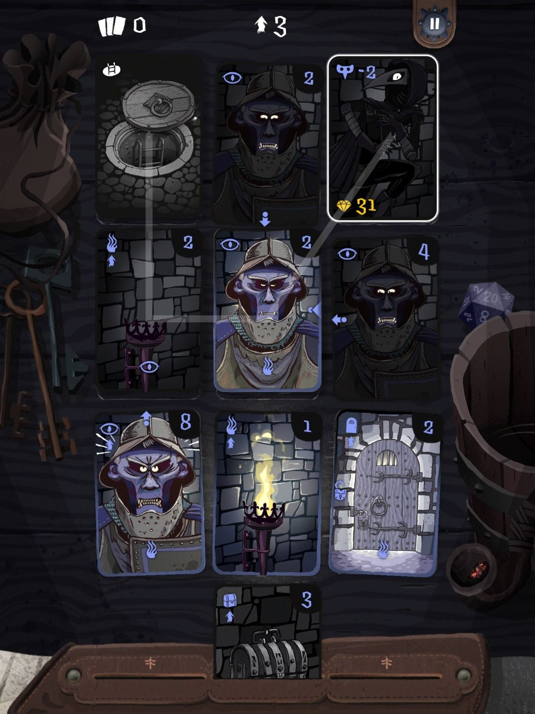 Card Thief (copie d'écran 6 sur iPhone / iPad)