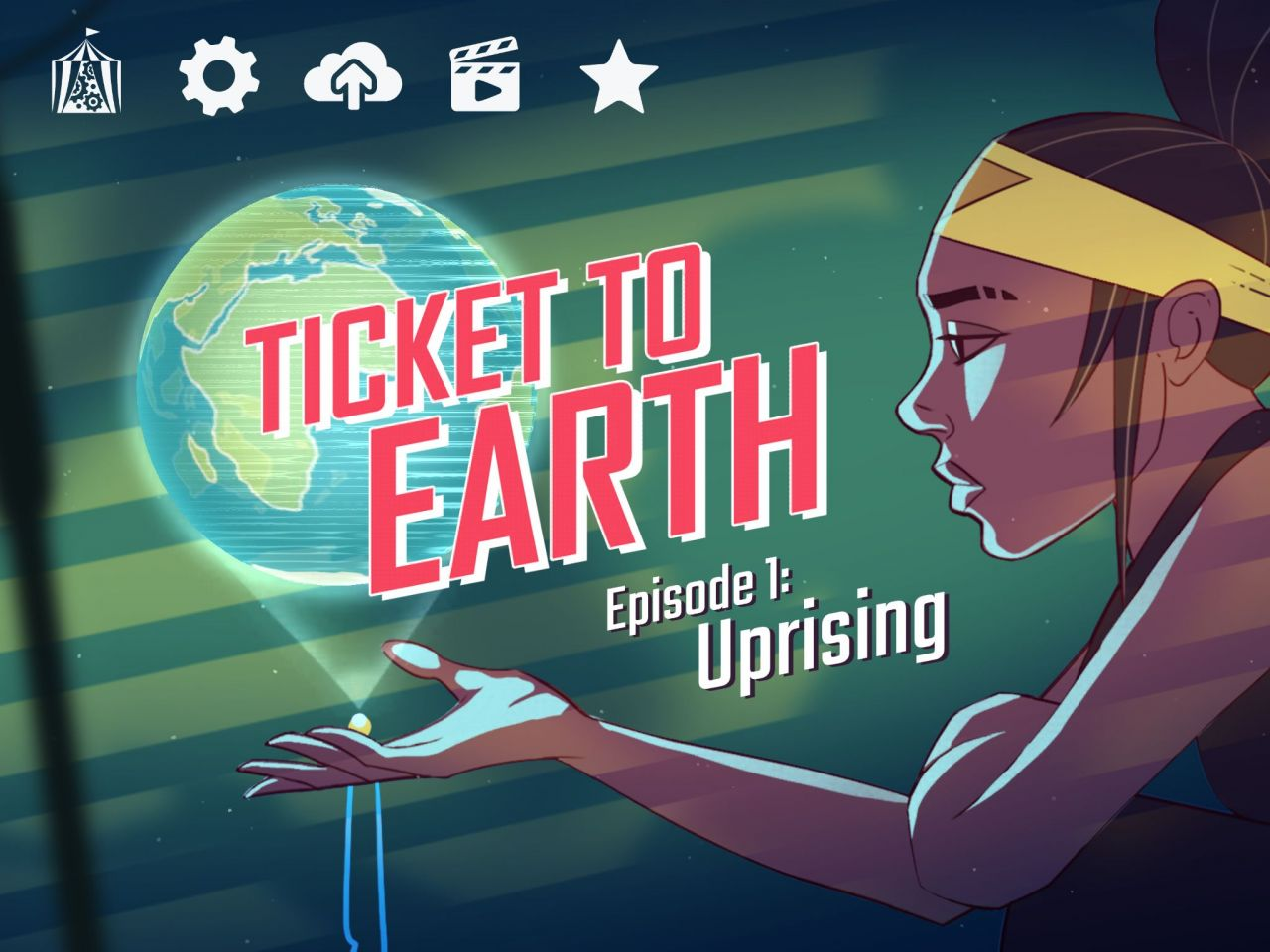 Ticket to Earth (copie d'écran 1 sur iPhone / iPad)