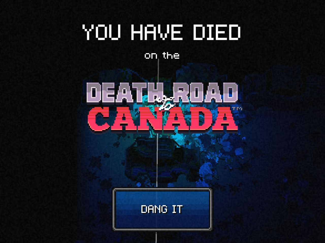 Death Road to Canada (copie d'écran 8 sur iPhone / iPad)