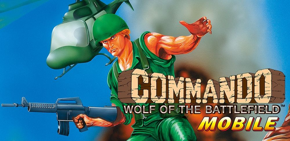 Wolf of the Battlefield : Commando MOBILE de Capcom