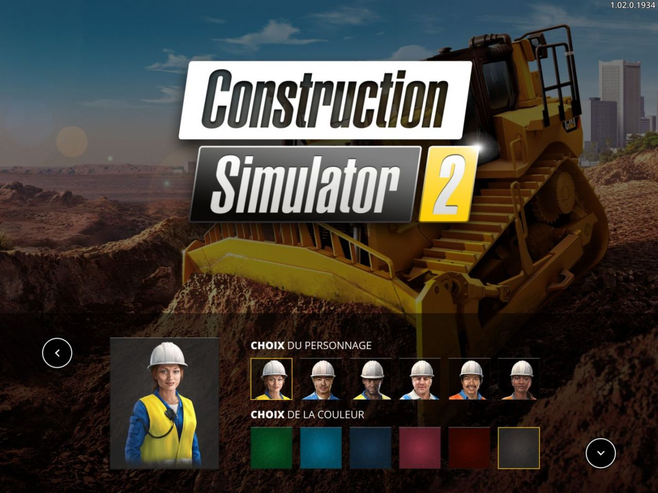Construction Simulator 2 (copie d'écran 1 sur iPhone / iPad)