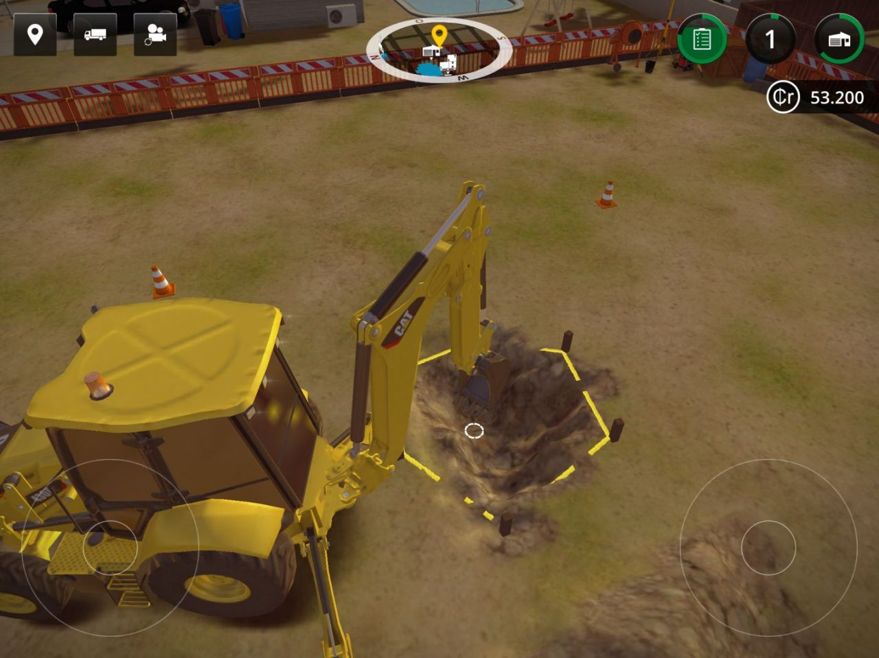 Construction Simulator 2 (copie d'écran 8 sur iPhone / iPad)