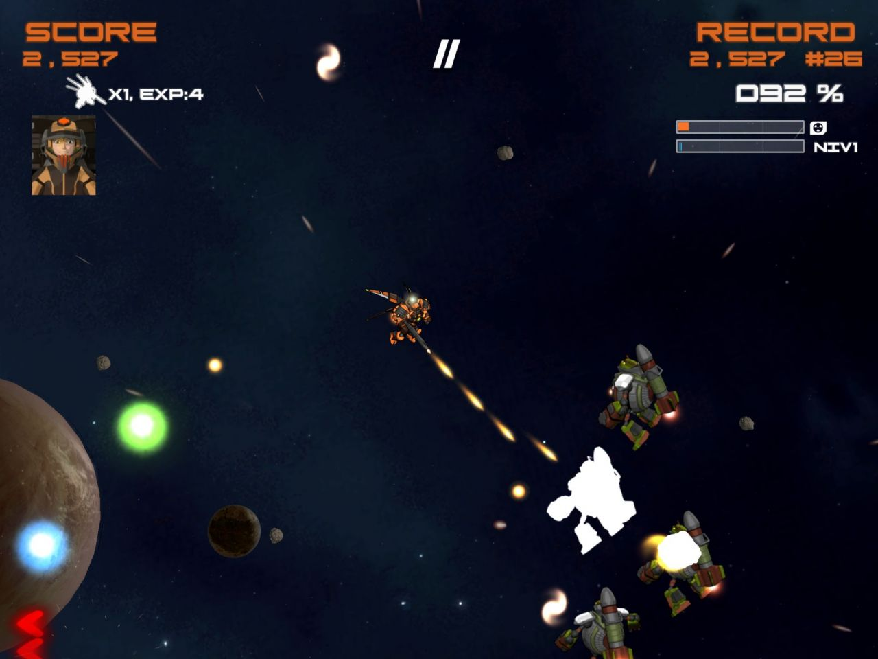 Quantum Revenge (copie d'écran 4 sur iPhone / iPad / Apple TV)