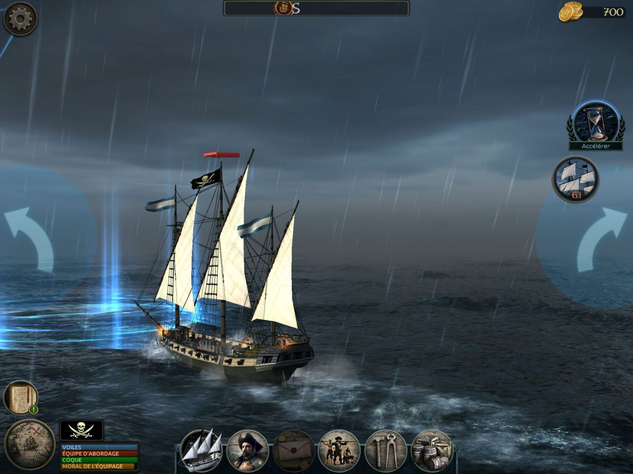 Tempest: Pirate Action RPG (copie d'écran 11 sur Android)