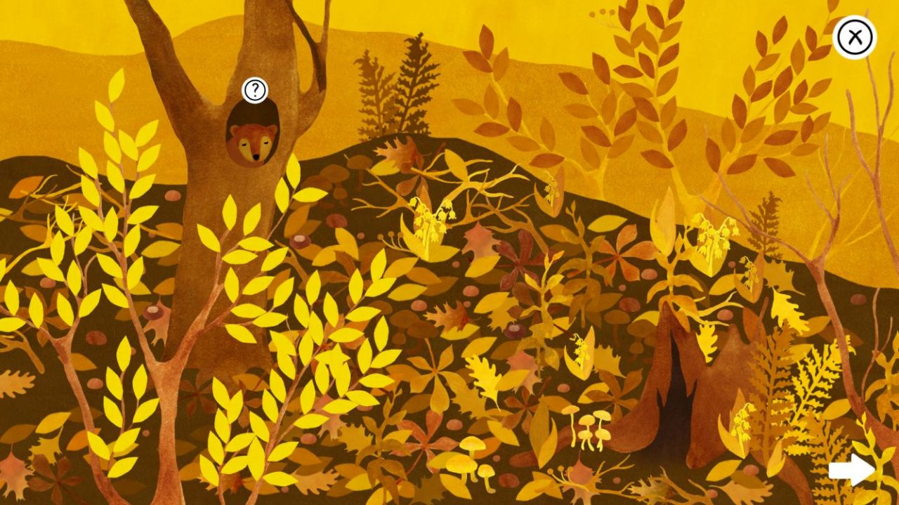 Under Leaves (copie d'écran 6 sur iPhone / iPad / Apple TV)