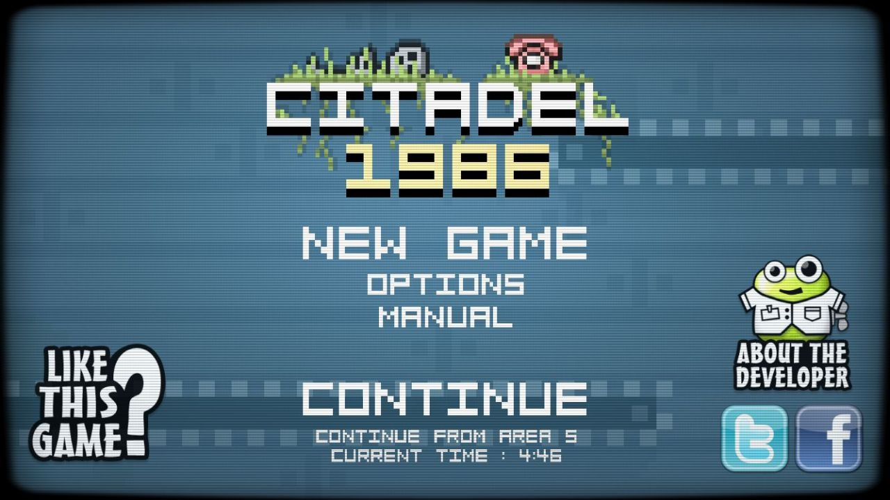 Citadel 1986 (copie d'écran 1 sur iPhone / iPad)