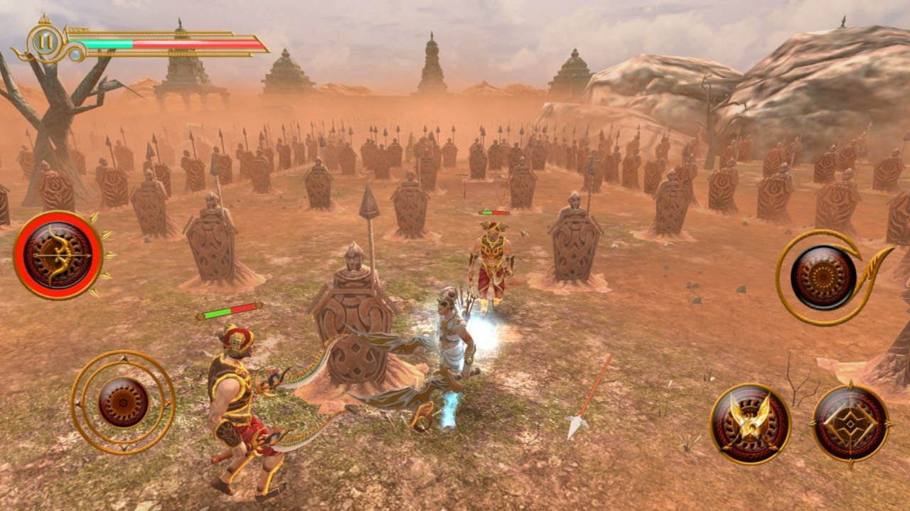 Legend of AbhiManYu (copie d'écran 10 sur iPhone / iPad / Apple TV)