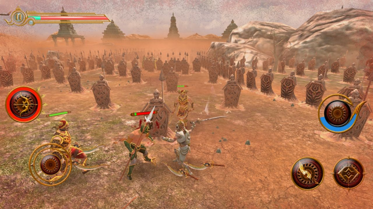 Legend of AbhiManYu (copie d'écran 12 sur iPhone / iPad / Apple TV)