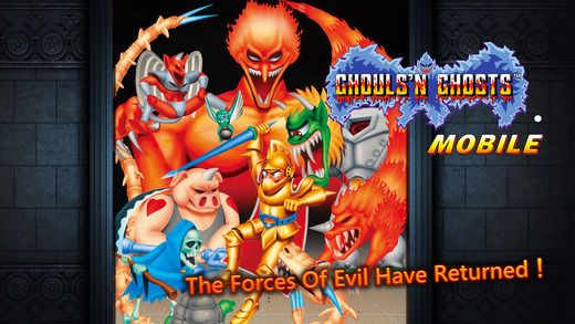 Ghouls'n Ghosts MOBILE de Capcom