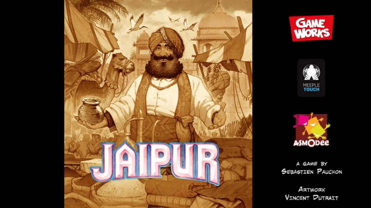 Jaipur : jeu de cartes en duel (copie d'écran 1 sur iPhone / iPad)