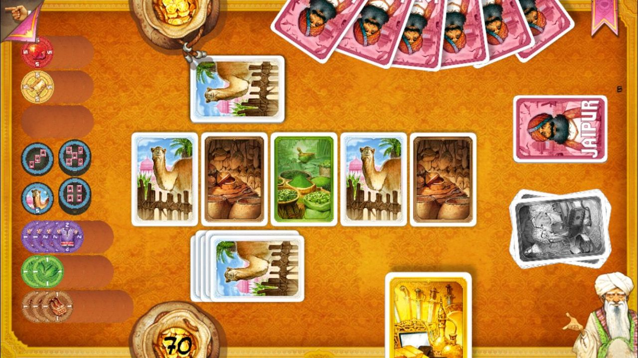 Jaipur : jeu de cartes en duel (copie d'écran 7 sur iPhone / iPad)