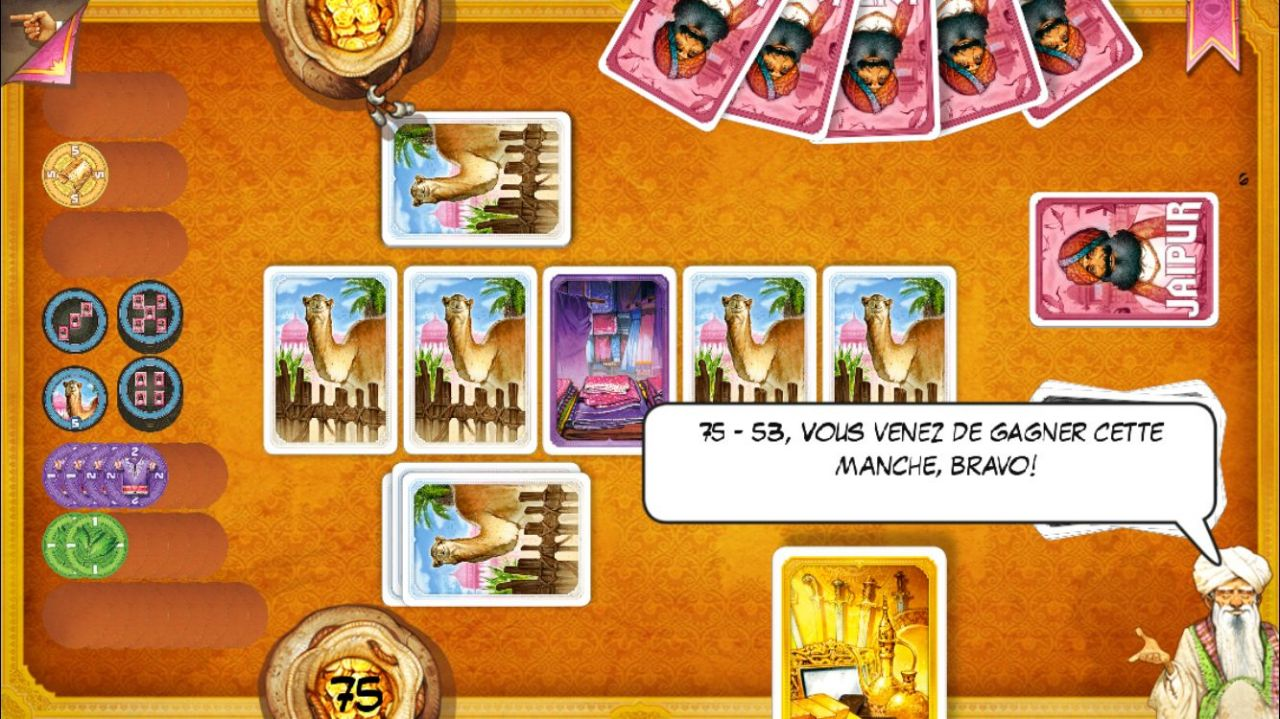 Jaipur : jeu de cartes en duel (copie d'écran 8 sur iPhone / iPad)