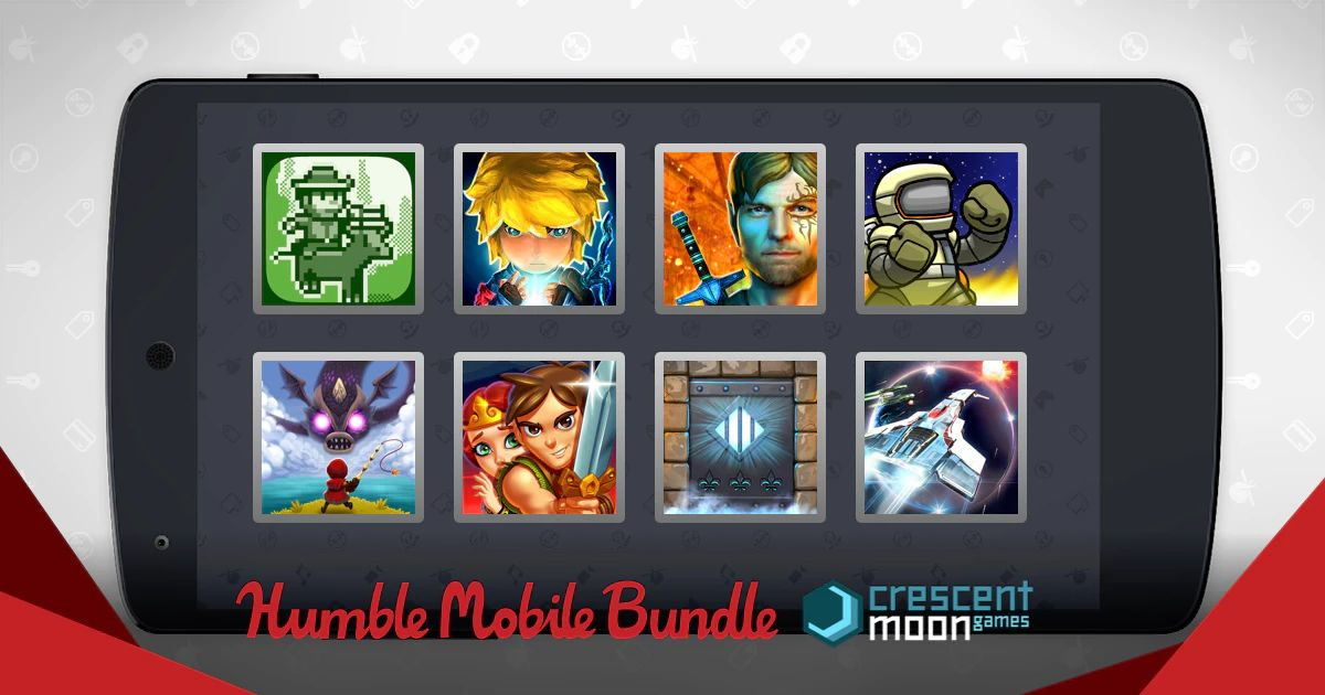 Humble Bundle Mobile spécial Crescent Moon Games 2