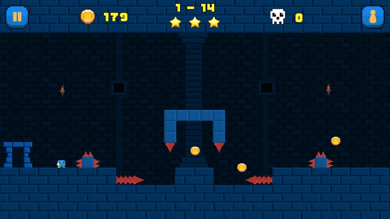 Super Nano Jumpers (copie d'écran 7 sur iPhone / iPad)