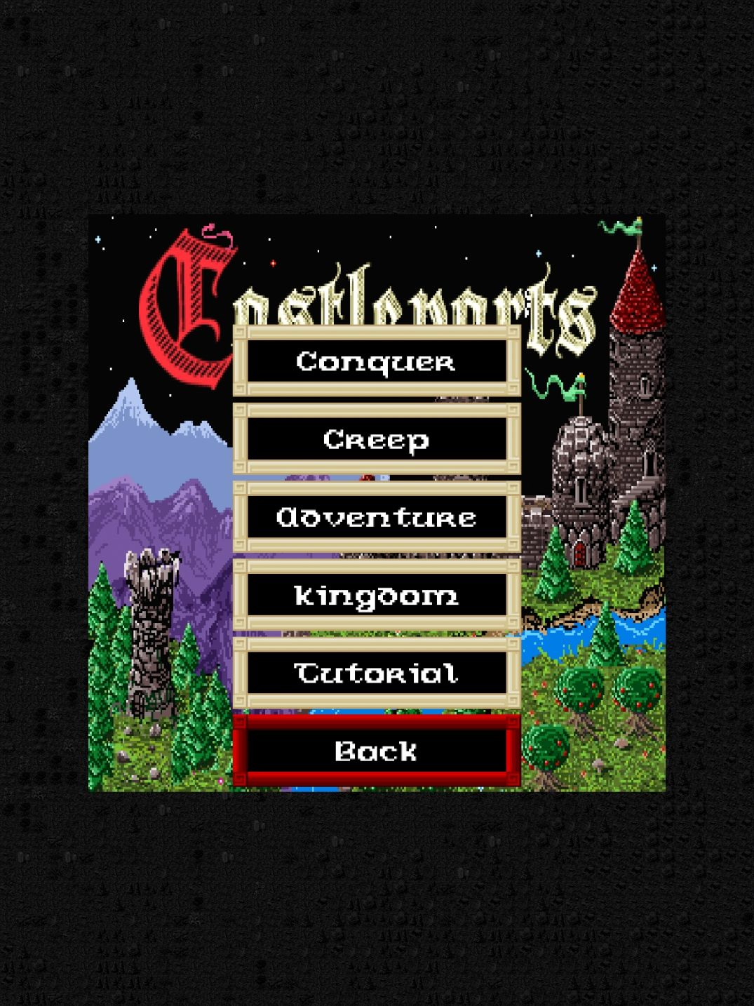 Castleparts (copie d'écran 1 sur iPhone / iPad)