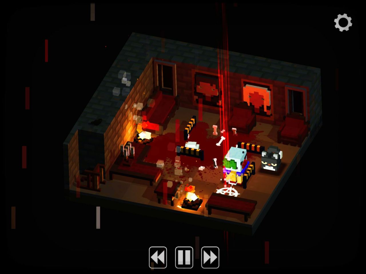 Slayaway Camp (copie d'écran 12 sur Android)