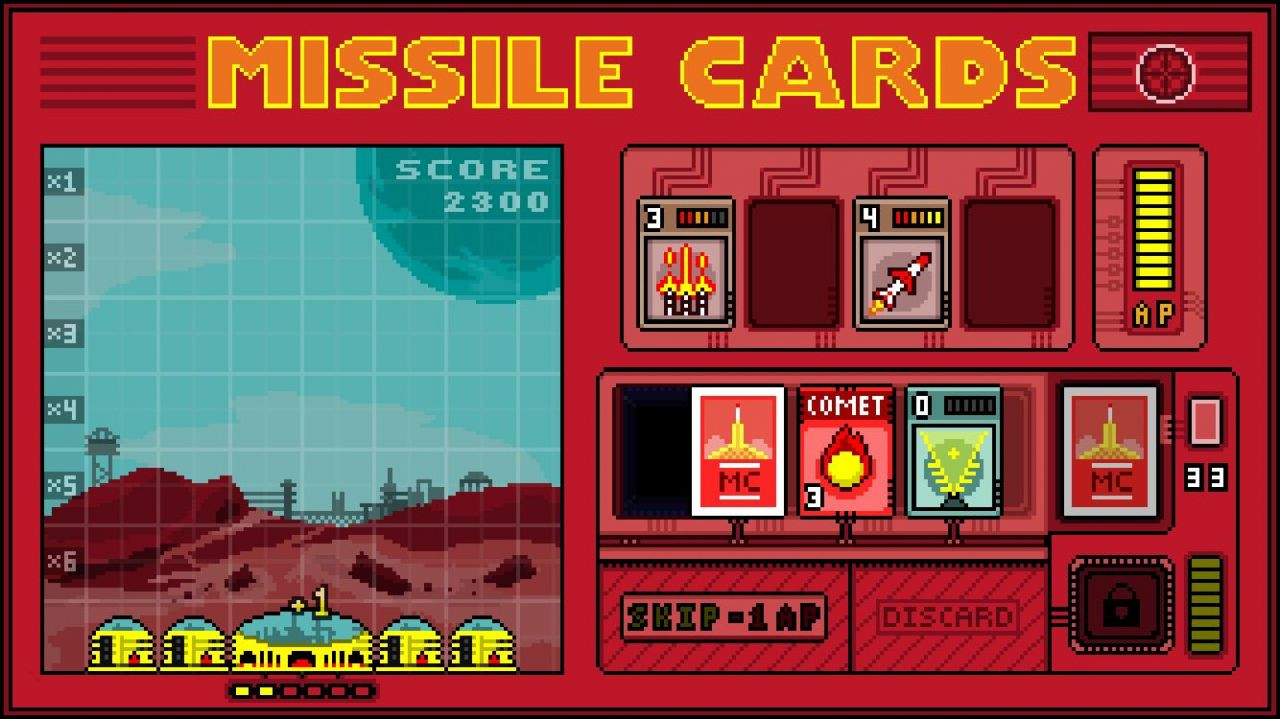 Missile Cards (copie d'écran 6 sur iPhone / iPad)