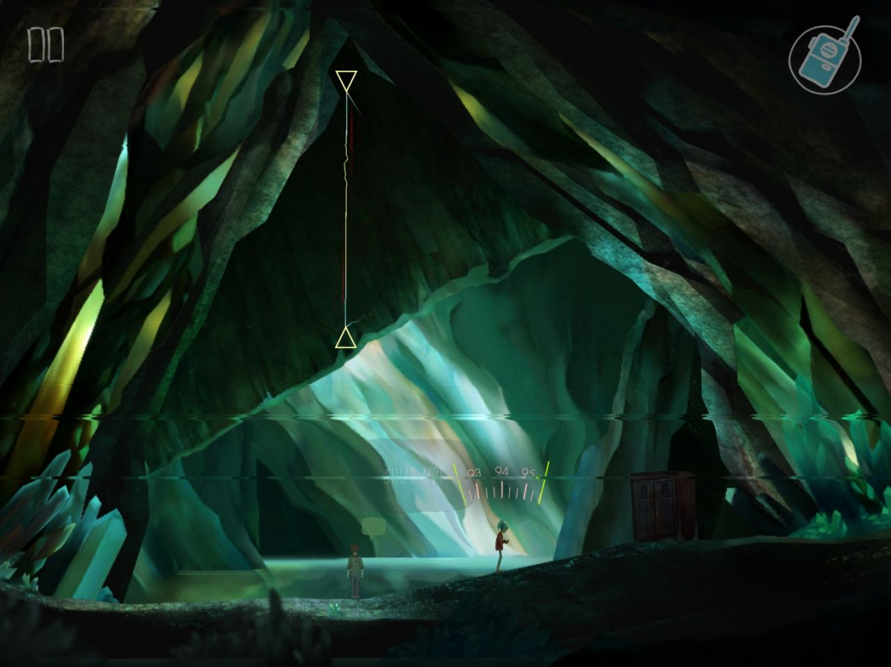 OXENFREE (copie d'écran 6 sur Android)