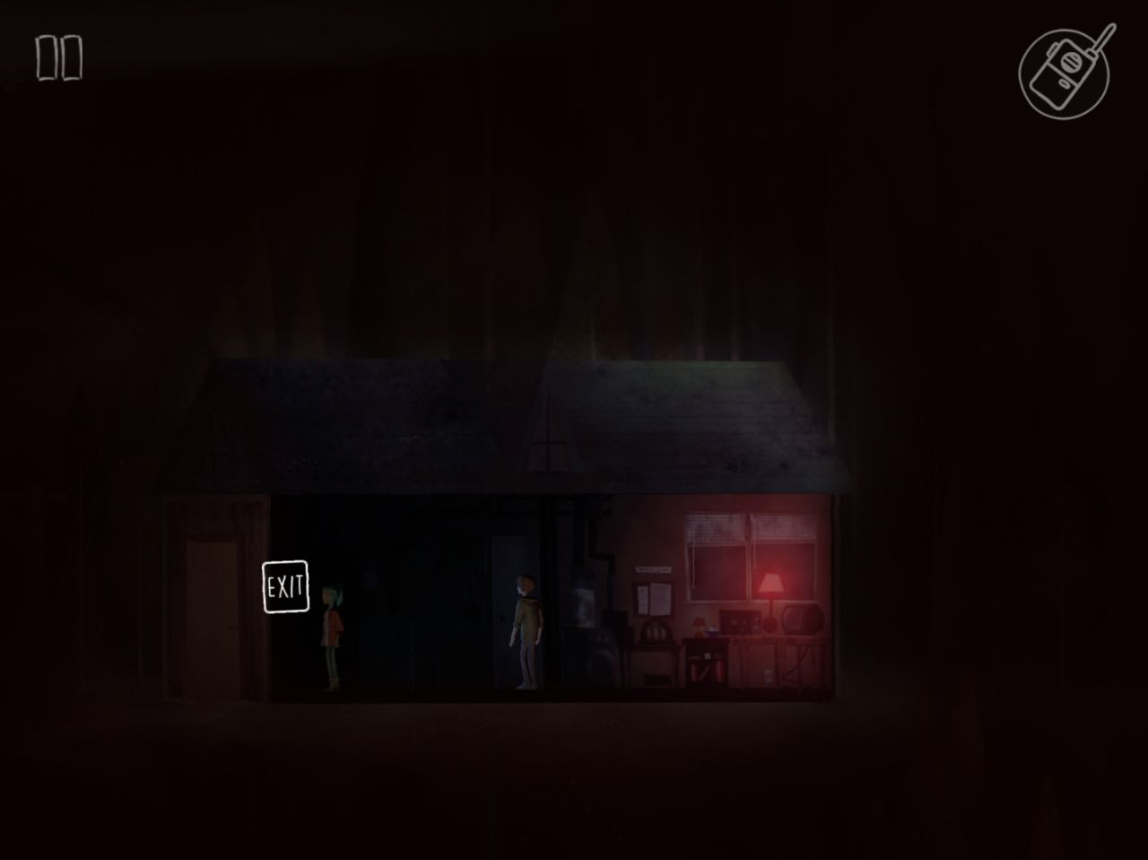 OXENFREE (copie d'écran 12 sur Android)