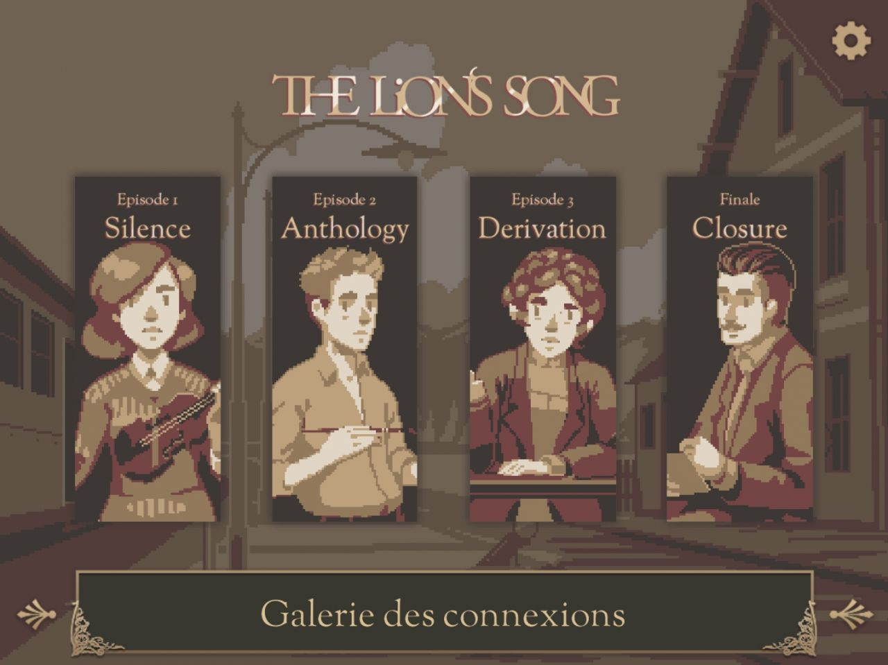 The Lion's Song (copie d'écran 1 sur iPhone / iPad)