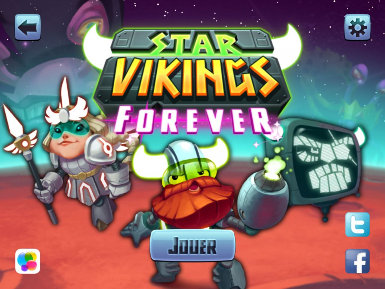 Star Vikings Forever (copie d'écran 1 sur iPhone / iPad)