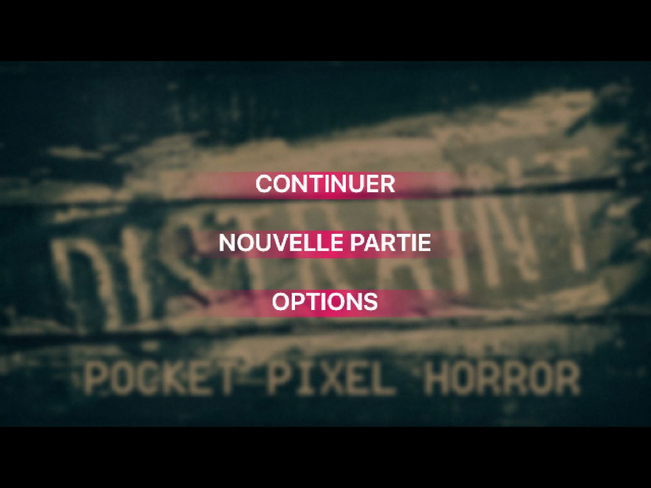 DISTRAINT: Pocket Pixel Horror (copie d'écran 1 sur Android)