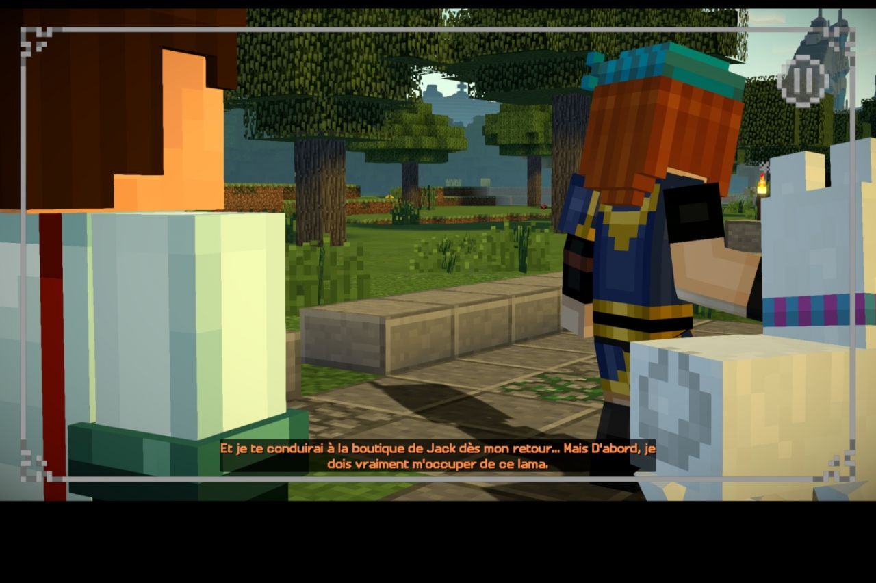 Minecraft: Story Mode - Season Two - test jeu Android sur KickMyGeek com