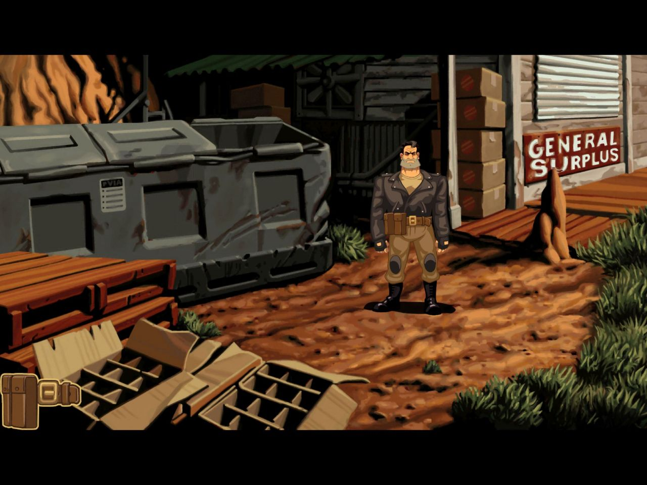 Full Throttle Remastered (copie d'écran 6 sur iPhone / iPad)