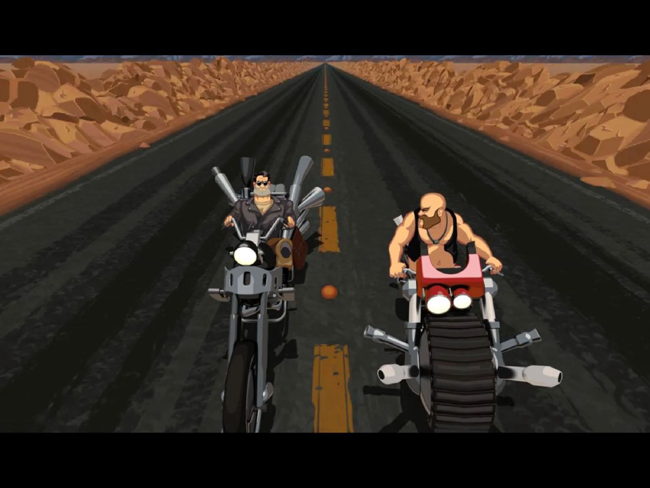 Full Throttle Remastered (copie d'écran 9 sur iPhone / iPad)