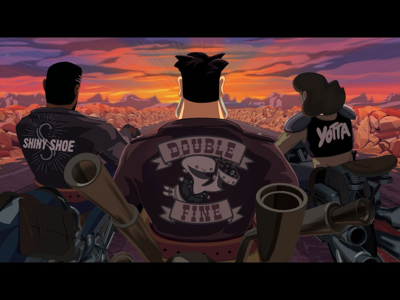 Full Throttle Remastered (copie d'écran 1 sur iPhone / iPad)