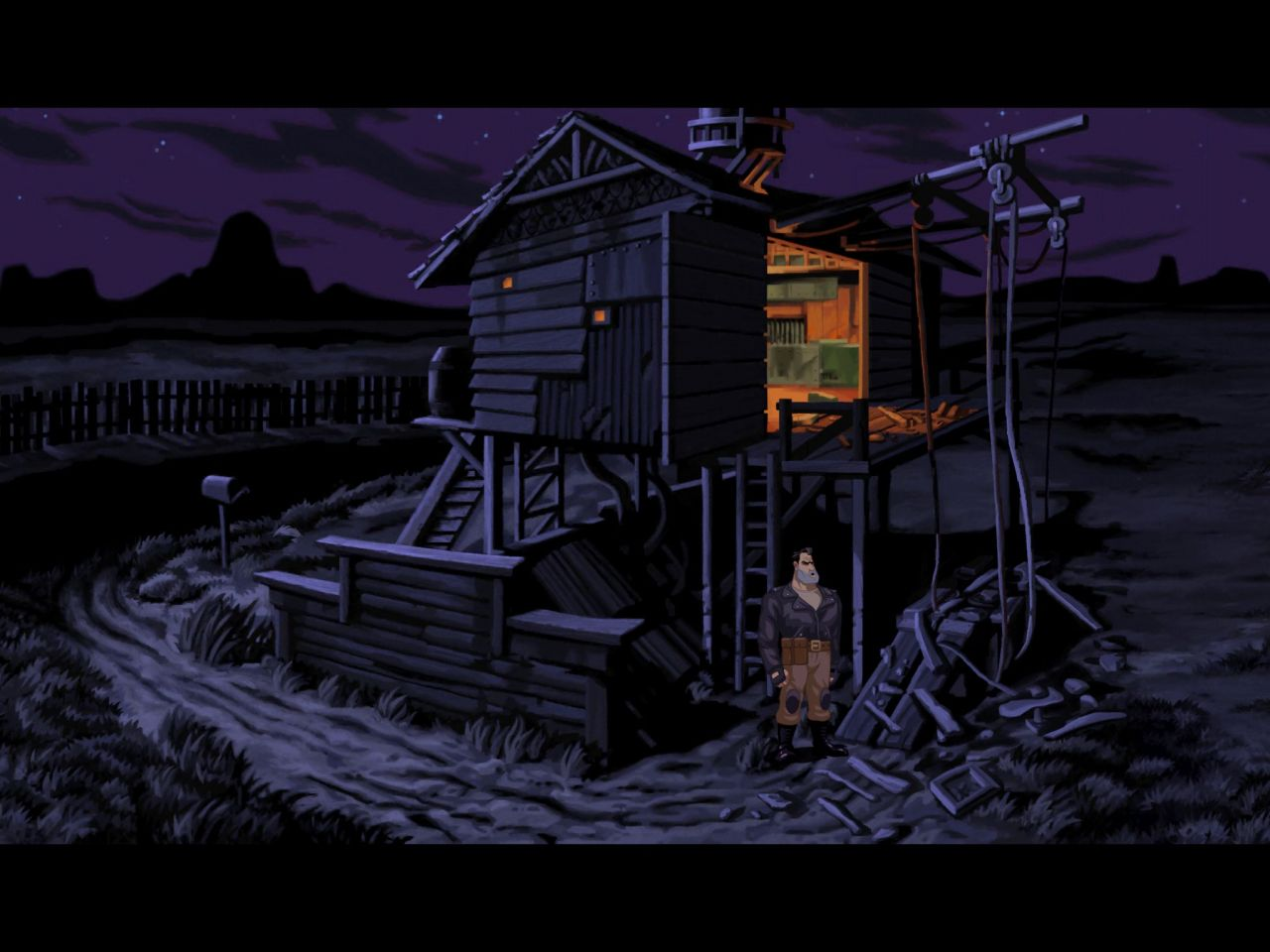 Full Throttle Remastered (copie d'écran 12 sur iPhone / iPad)