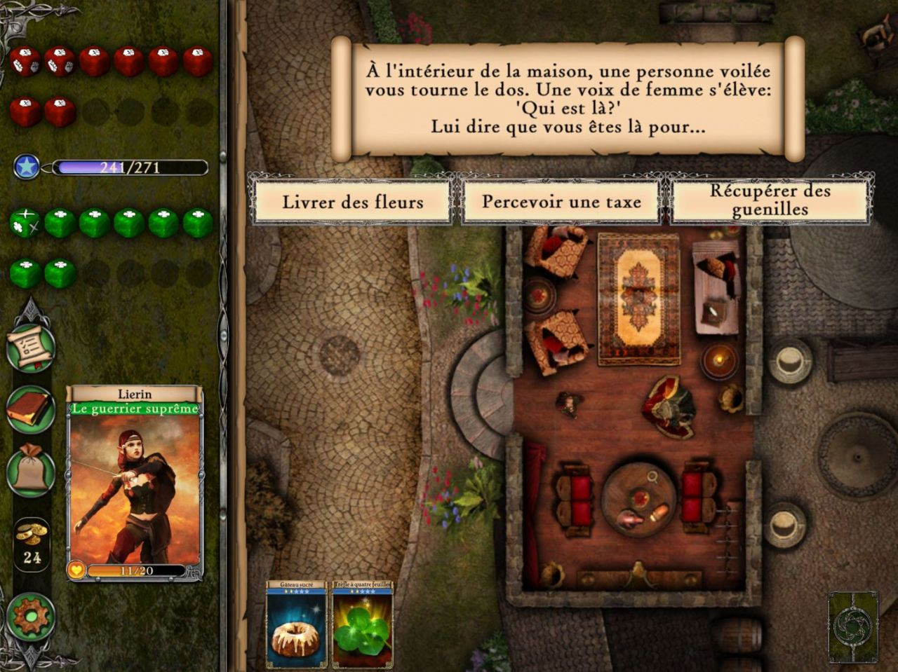 Fighting Fantasy Legends (copie d'écran 1 sur iPhone / iPad)