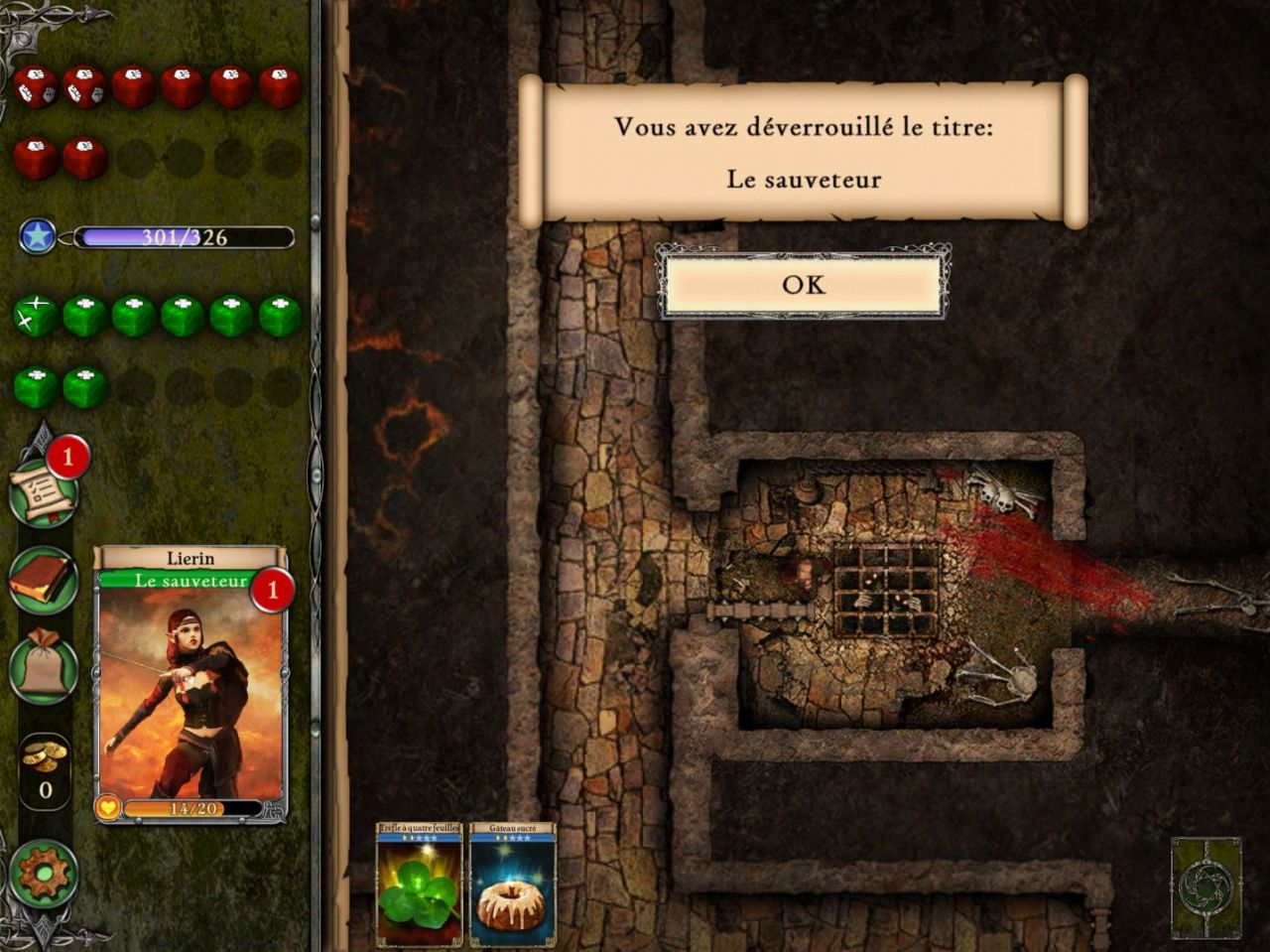 Fighting Fantasy Legends (copie d'écran 5 sur Android)