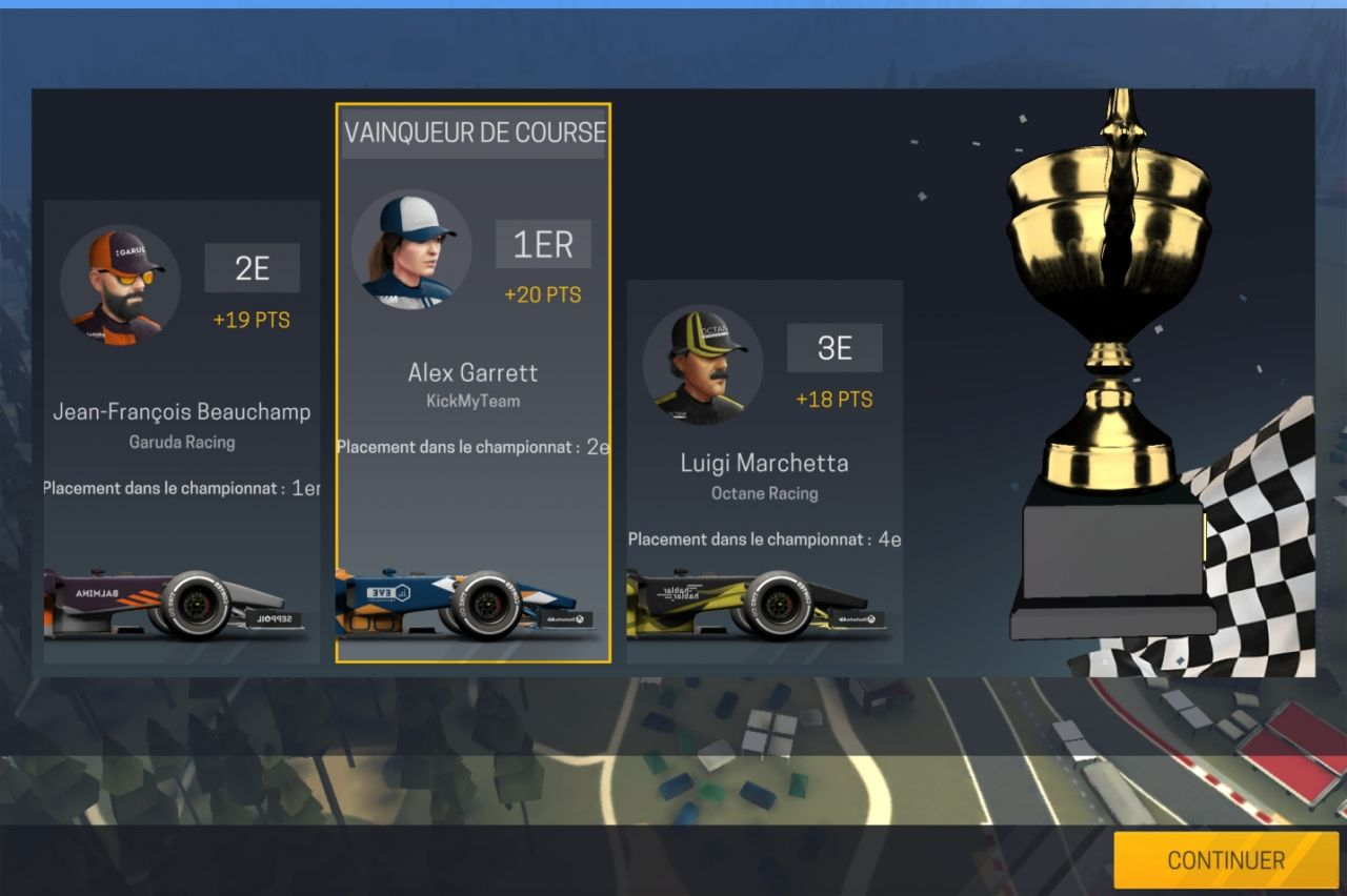 Motorsport Manager Mobile 2 (copie d'écran 9 sur Android)