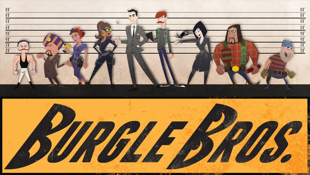 Burgle Bros de Fowers Games