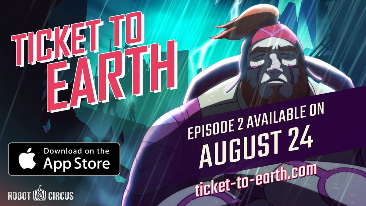 Ticket To Earth Episode 2 Crash de Robot Circus