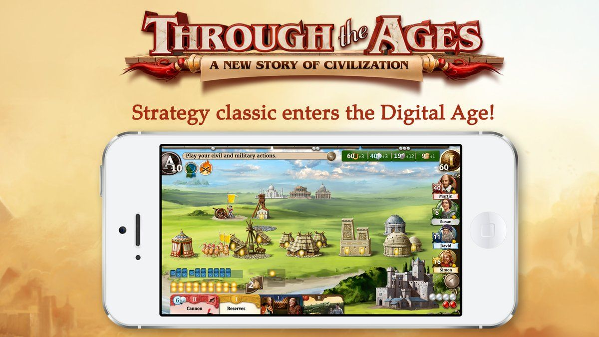 Through The Ages de Czech Games Edition