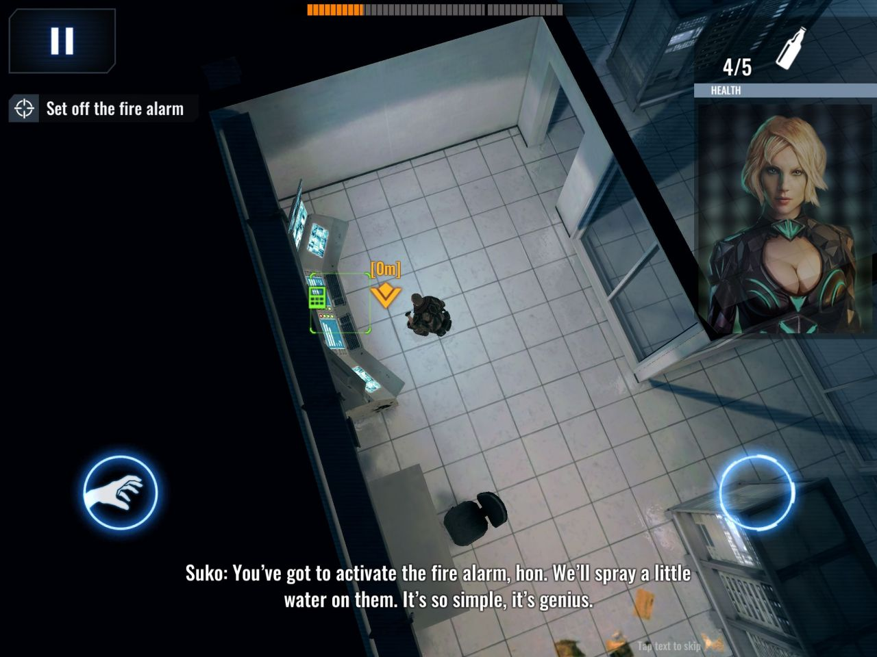 Death Point: 3D Spy Top-Down Shooter, Stealth Game (copie d'écran 6 sur Android)