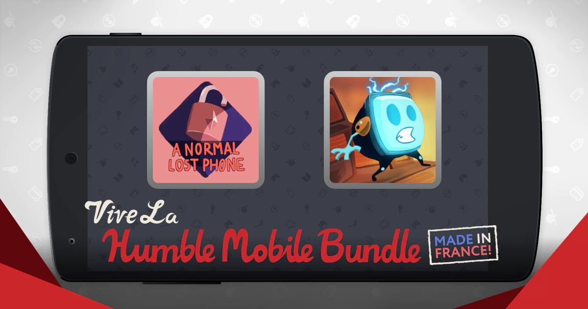 Humble Bundle Mobile spécial Made in France