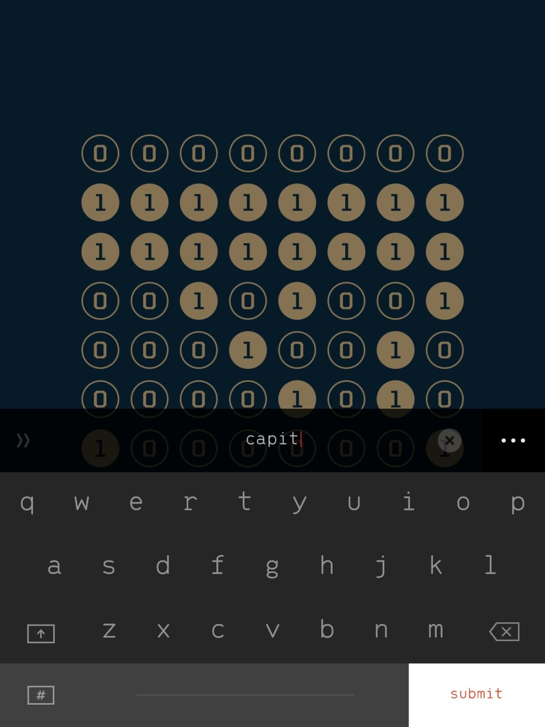 The Guides Axiom (copie d'écran 9 sur Android)
