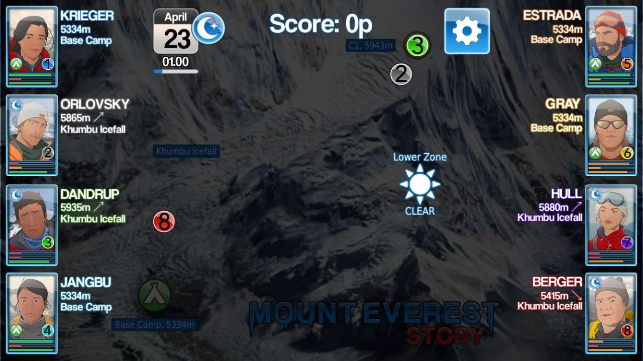 Mount Everest Story (copie d'écran 6 sur Android)