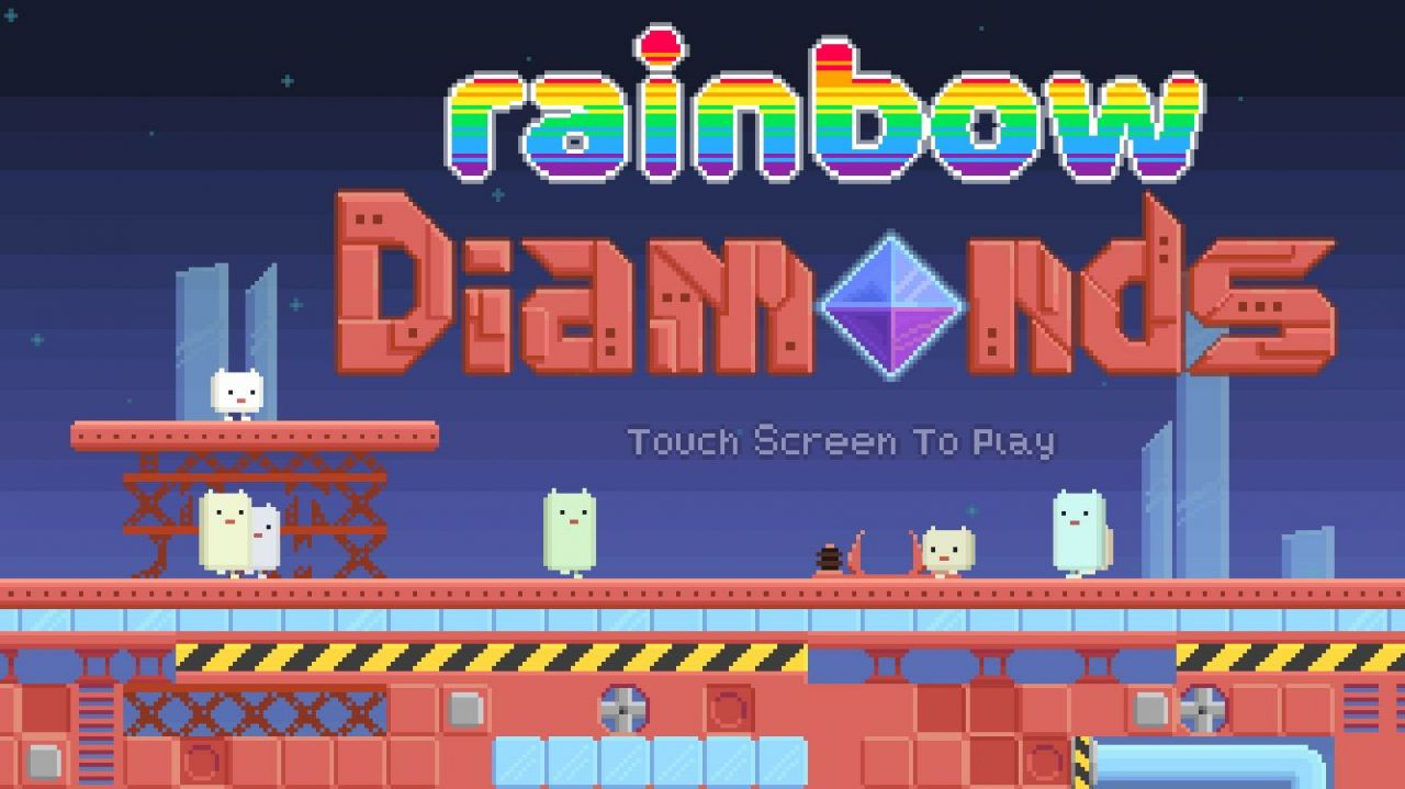 Rainbow Diamonds (copie d'écran 1 sur Android)